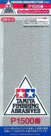 Schuurpapier P1500 (Tamiya)