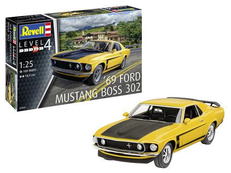 Revell Boss 302 Mustang 1969 1:24