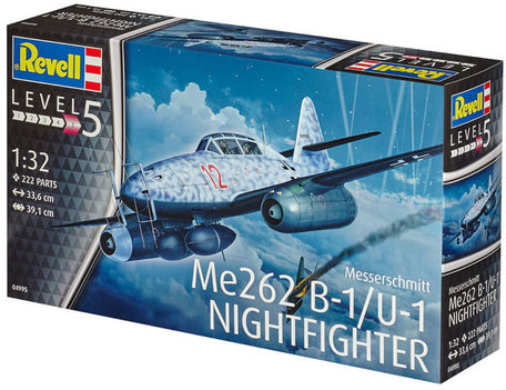 Revell Messerschmitt Me262 B-1/U-1 Nightfighter 1:32