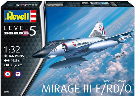 Revell Dassault Mirage III E/RD/O 1:32