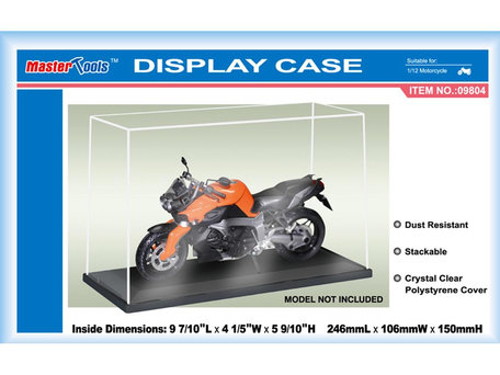 Display Case: 24,6 x 10,6 x 15,0 cm