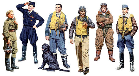 Master Box Famous Pilots of WWII 1:32