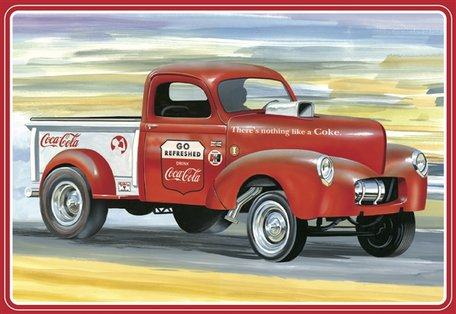 AMT Willys Pickup Truck '40 Coca Cola 1:25