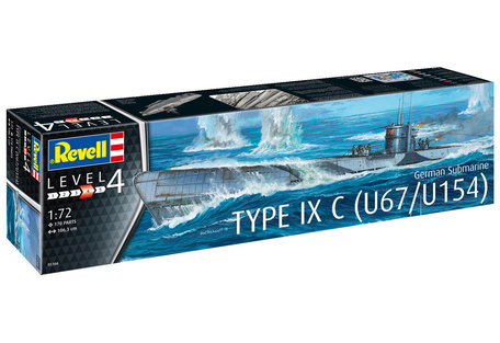 Revell German Submarine Type IXC U67/U154 1:72
