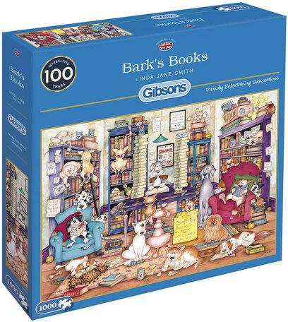 Gibsons Barks Books (1000)