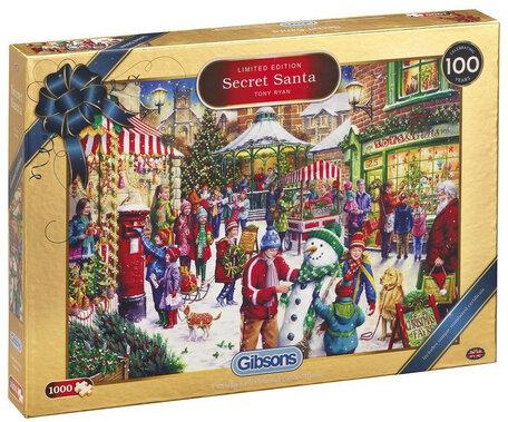 Gibsons Kerstpuzzel 2019 Secret Santa