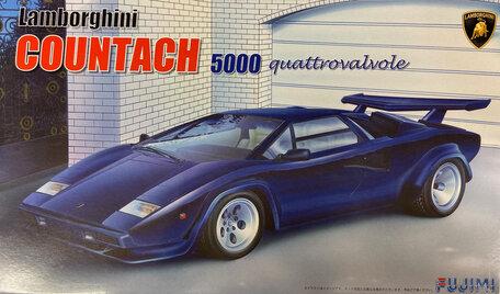 Fujimi Lamborghini Countach 5000 Quattrovalvole 1:24