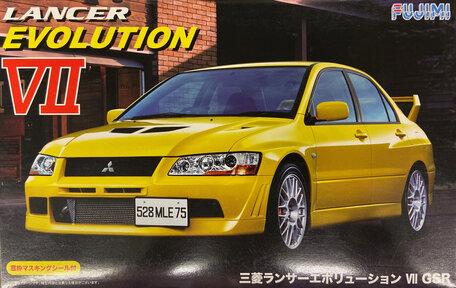 Fujimi Lancer Evolution VII 1:24