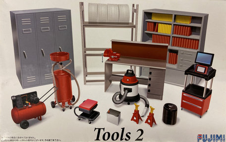 Fujimi Garage & Tools 2 1:24