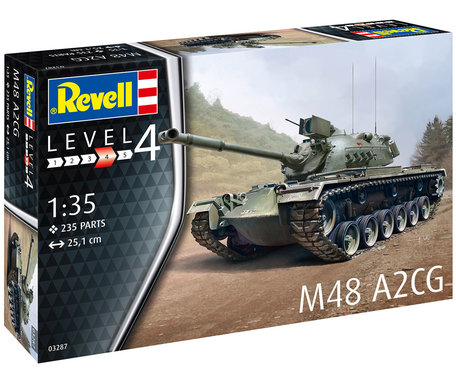 Revell M48 A2CG 1:35