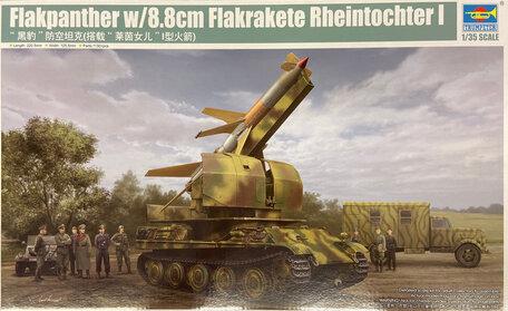 Trumpeter Flakpanther w/8.8cm Flakrakete Rheintochter I 1:35