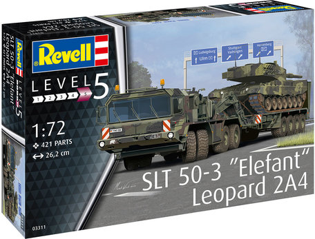 Revell SLT 50-3 Elefant & Leopard 2A4 1:72