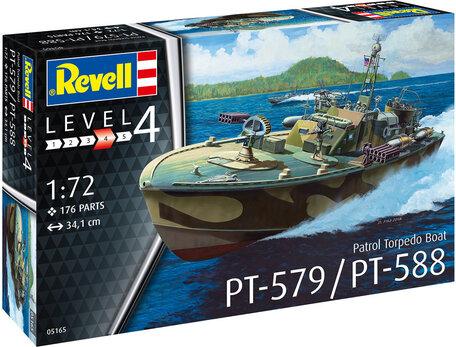 Revell Patrol Torpedo Boat PT-588 / PT-579 1:72