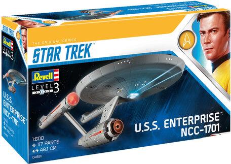 Revell Star Trek U.S.S. Enterprise NCC-1701 (TOS) 1:600