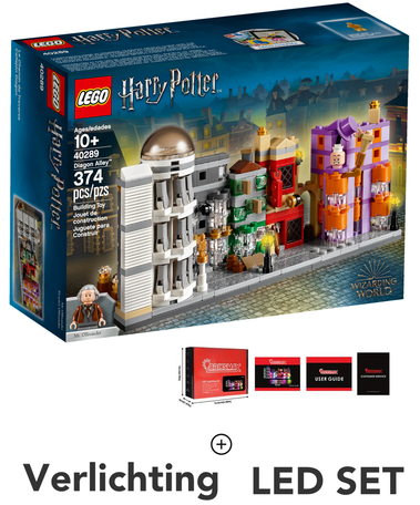LEGO 40289 Diagon Alley + LED Verlichting