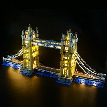 LEGO 10214 Tower Bridge + LED Verlichting