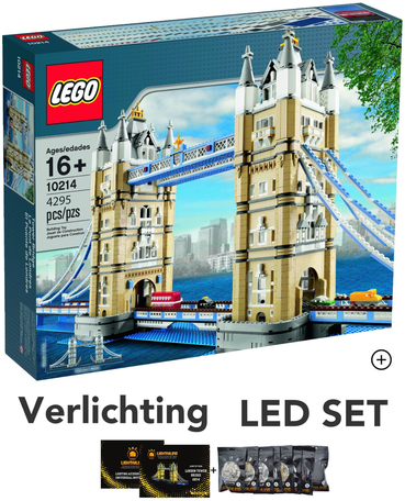 LEGO 10214 Tower Bridge + LED Verlichting