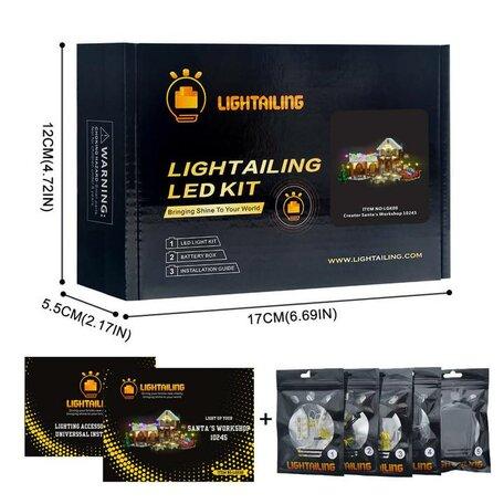 Lightaling Verlichting set voor LEGO 10245 Santa's Workshop