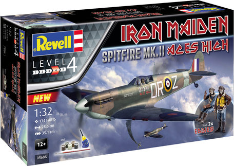 Revell Iron Maiden Spitfire Mk.II 1:32