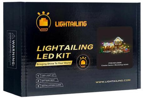 Verlichting voor LEGO 10245 Santa's Workshop