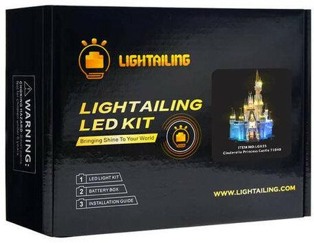 Verlichting voor LEGO 71040 Disney Kasteel