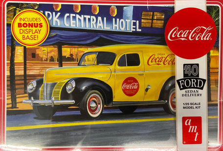 AMT Ford Sedan Delivery 1940 Coca Cola 1:25