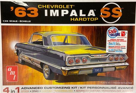AMT Chevrolet Impala Hardtop SS 1963 1:25