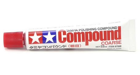 Tamiya Polishing Compound Coarse