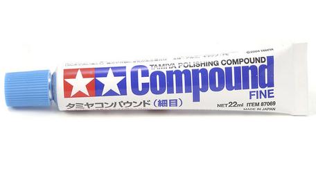Tamiya Polishing Compound Fine