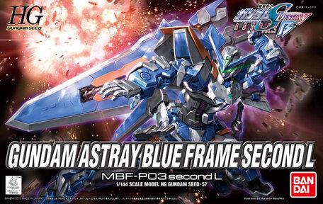 HG 1/144: MBF-P03 Gundam Astray Blue Frame Second L