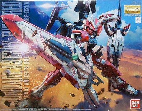 MG 1/100: MBF-02VV Gundam Astray Turn Red