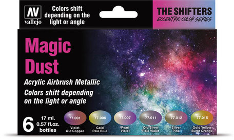 Vallejo Paint Set: Magic Dust (77.090)