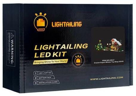 Verlichting voor LEGO 10249 Winter Toy Shop