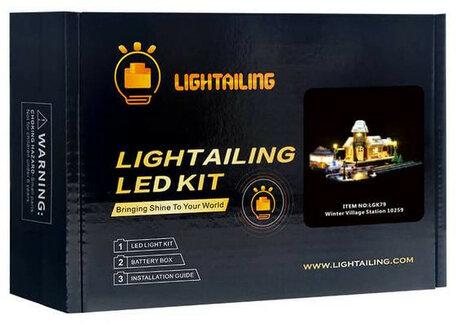 Verlichting voor LEGO 10259 Winter Village Station