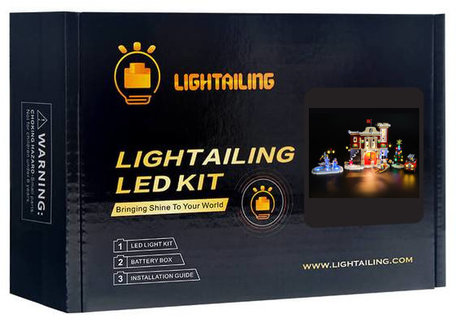 Verlichting voor LEGO 10263 Winter Village Fire Station
