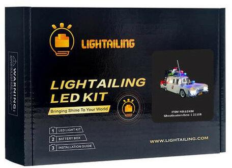 Verlichting voor LEGO 21108 Ghostbusters Ecto-1