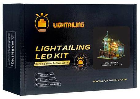 Verlichting voor LEGO 21310 Fishing Store