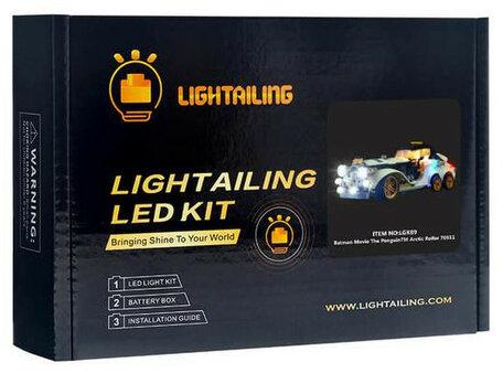 Verlichting voor LEGO 70911 Penguin Arctic Roller
