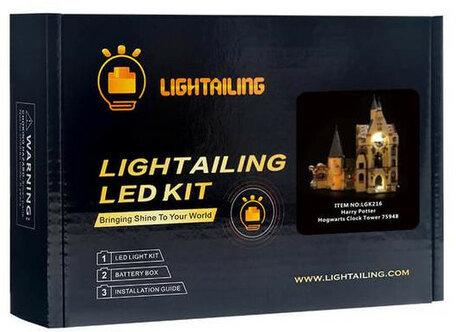 Verlichting voor LEGO 75948 Hogwarts Clock Tower