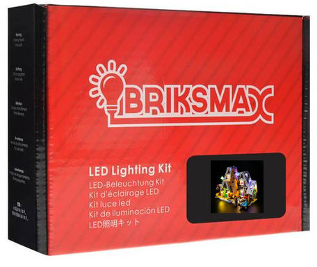 Verlichting voor LEGO 10267 Gingerbread House