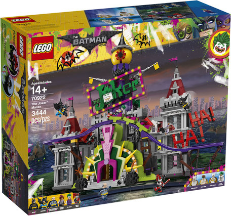 LEGO 70922 The Joker Manor