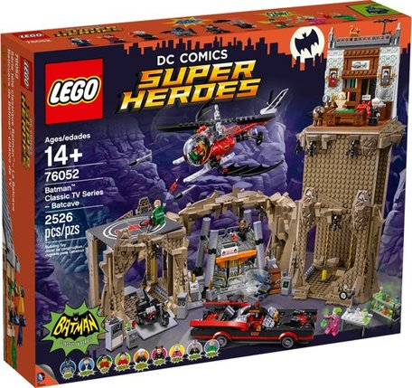 LEGO 76052 Batman Classic TV Serie Batcave