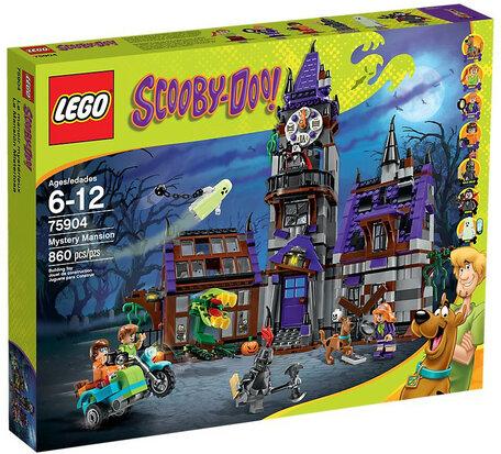 LEGO 75904 Scooby Doo Het Mysterieuze Landhuis