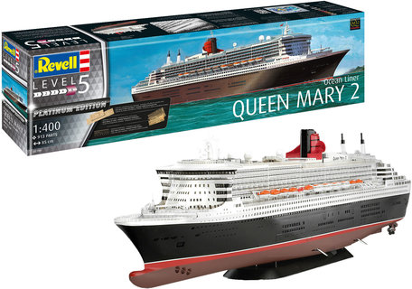 Revell Queen Mary 2 Platinum Edition 1:400