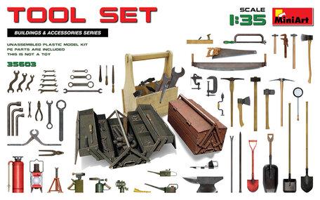 MiniArt Tool Set 1:35