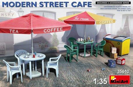 MiniArt Modern Street Cafe 1:35