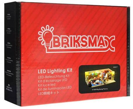 Verlichting voor LEGO 21302 Big Bang Theory