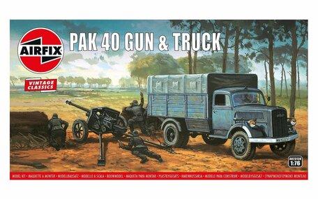 Airfix Pak 40 Gun & Truck 1:76
