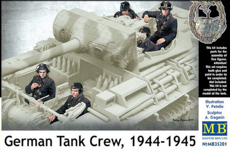 Master Box German Tank Crew 1:35