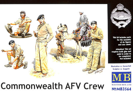 Master Box Commonwealth AFV Crew 1:35